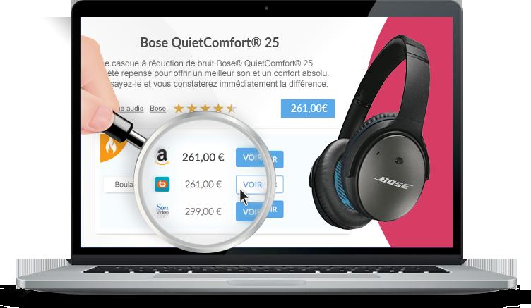 Transformez votre site en comparateur de prix<br/>et boostez vos revenus !