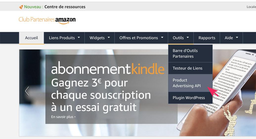 API Amazon 1